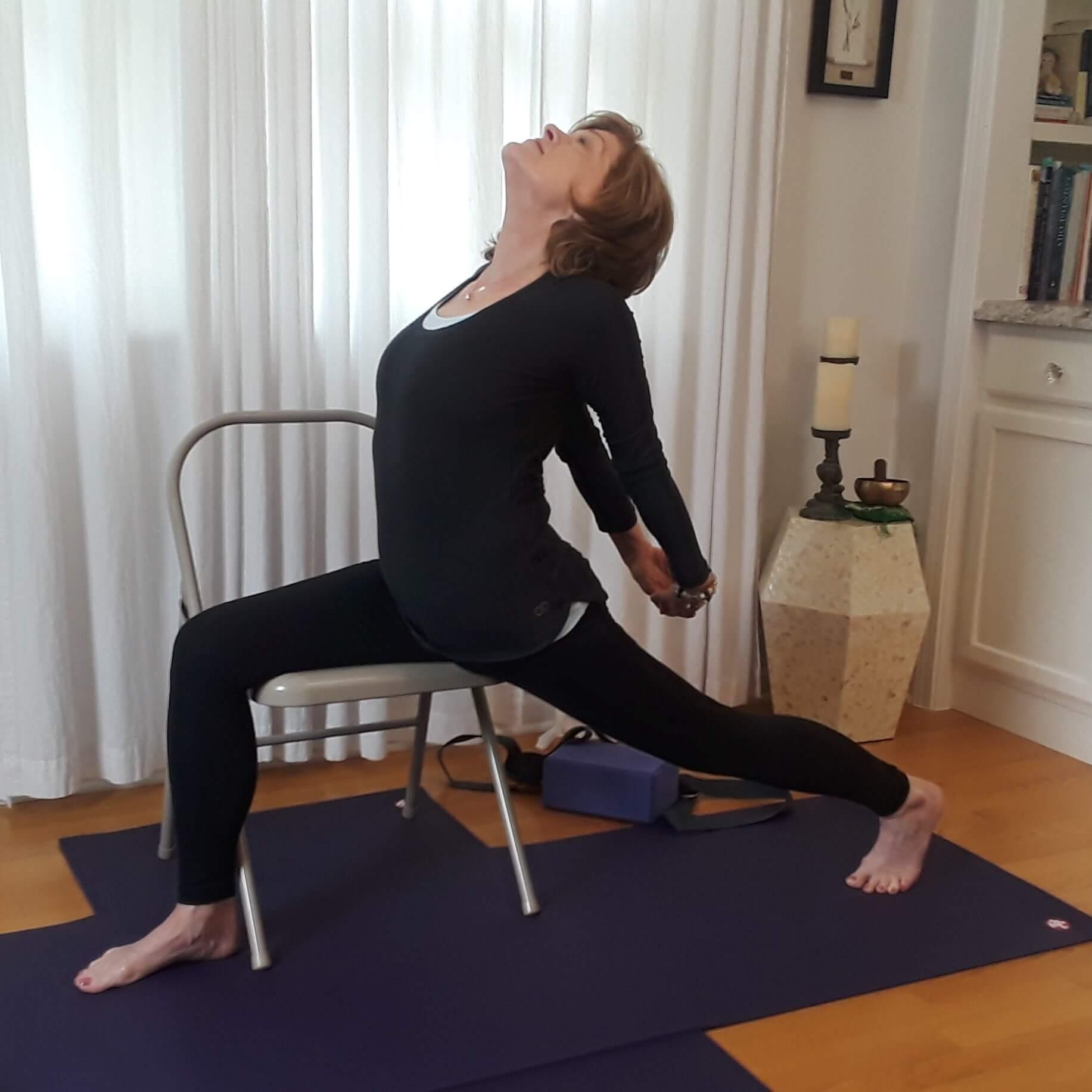 Chair Yoga - Challenge for Core & Balance